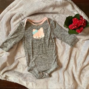 JERSEY KNIT Long Sleeve Onesie